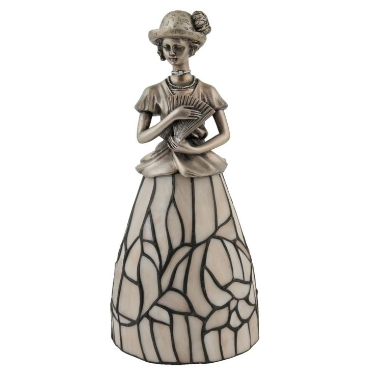 "Tiffany lamp H31 cm ""Lady"" 5651"