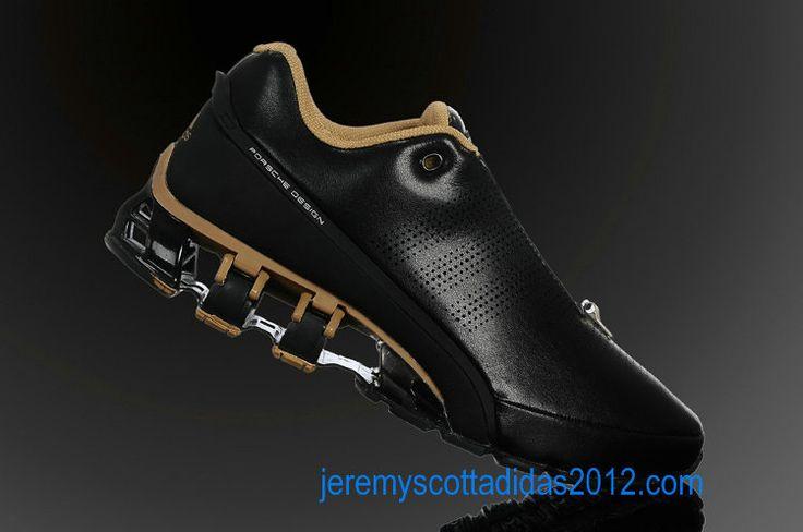 Adidas Porsche Design Sport Men's BOUNCE: S L Running Shoes 2012 (Black Gold Titanium)