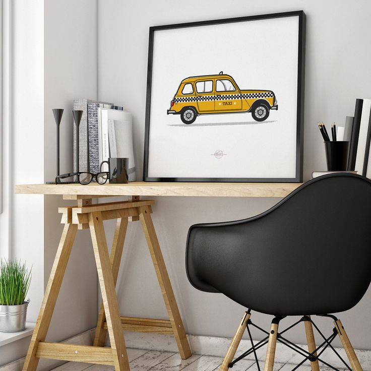r4 | renault 4 | taxi