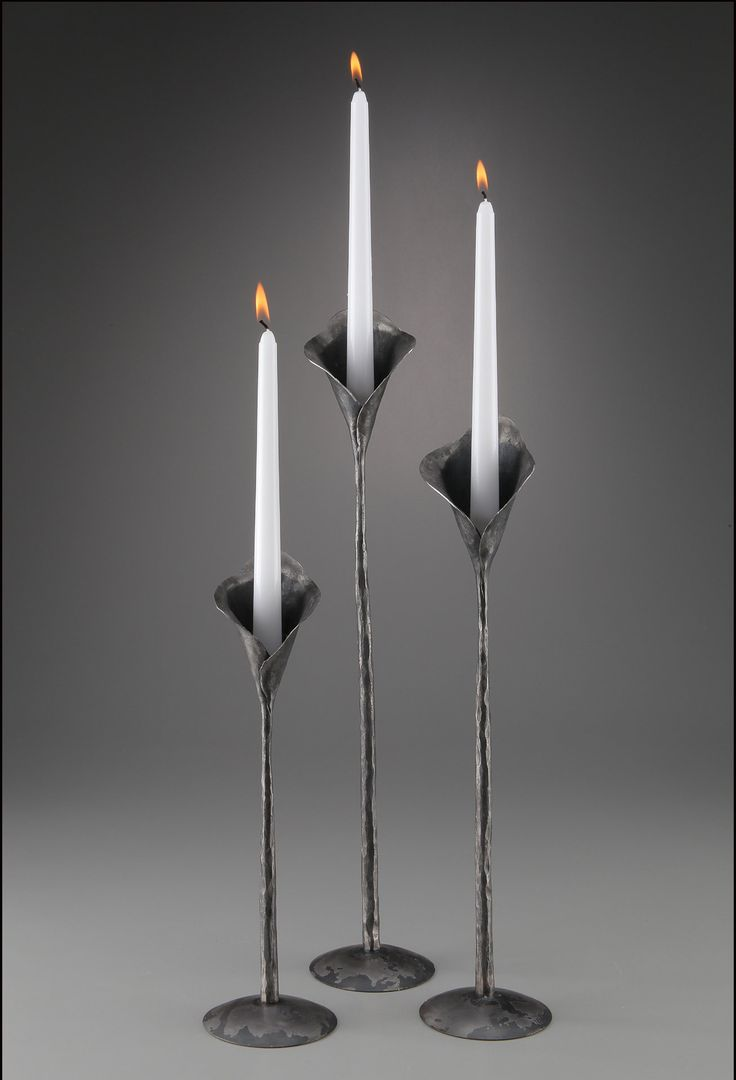 221 best candlesticks hand forged images on pinterest