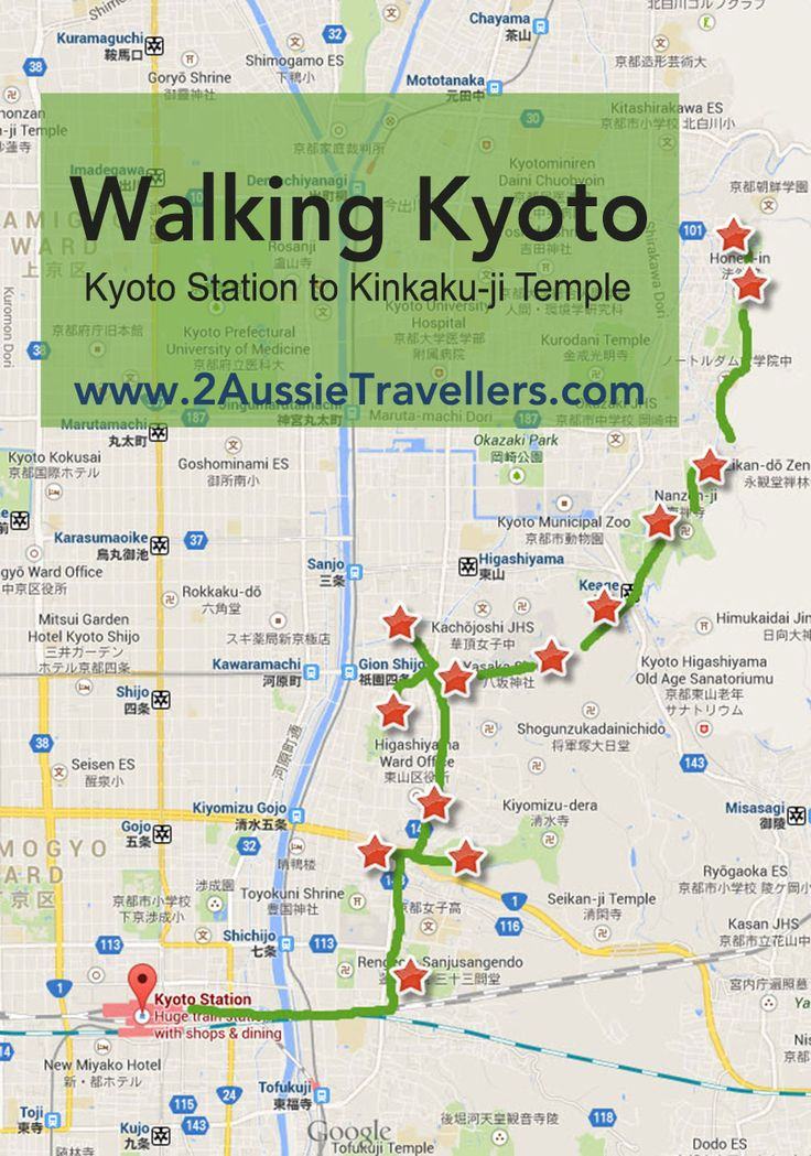 Walking Kyoto: Introduction