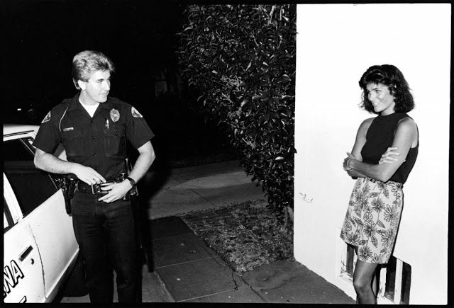 vintage everyday: 20 Unbelievable Retro Photos of Los Angeles Police Officers during the Mid-1980s Photographer William Karl Valentine grew up visiting the Pasadena Police department, where his father was a reserve police officer.