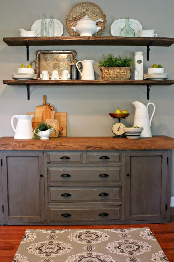 47 Best Open Shelving In Kitchens Images On Pinterest: Best 25+ Open Shelving Ideas On Pinterest