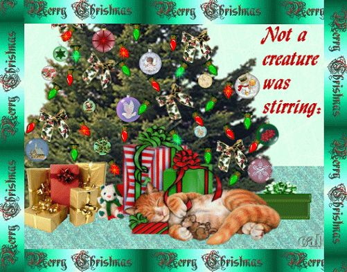 Beautiful Animated Christmas E Cards | Animated Christmas Greeting E Cards Designs Pictures-Happy-Merry X ...