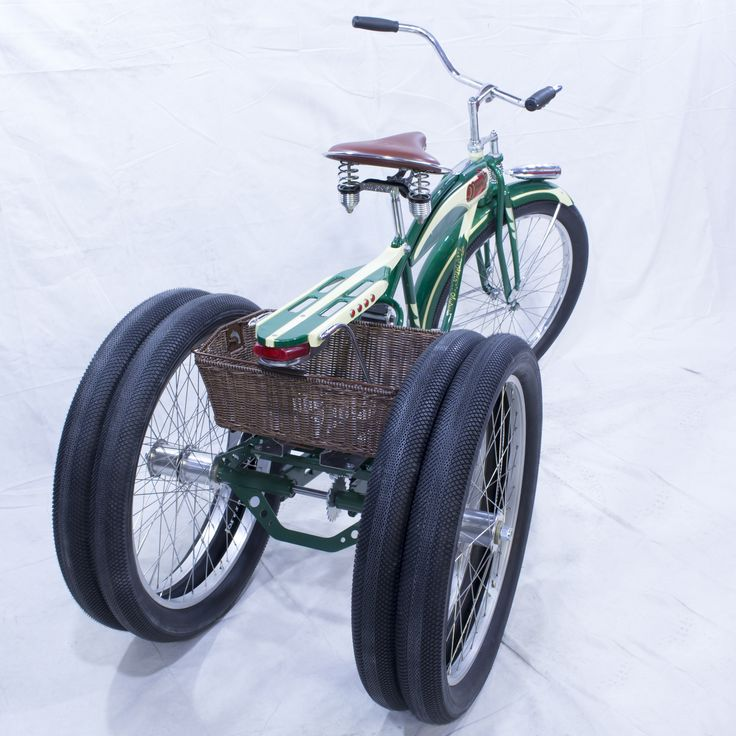 Fat Tire Trike Beach Cruiser Dually