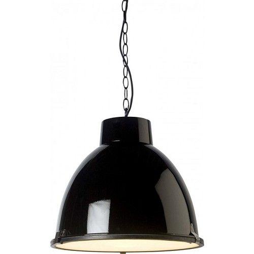 Hanglamp industrieel zwart - www.straluma.nl