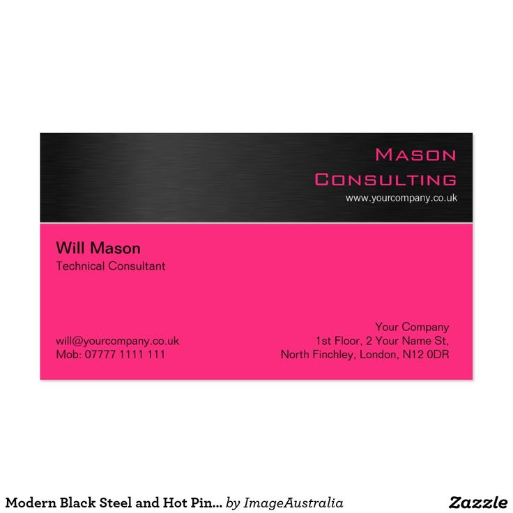 65 best Steel / Metal Effect Business Cards images on Pinterest ...