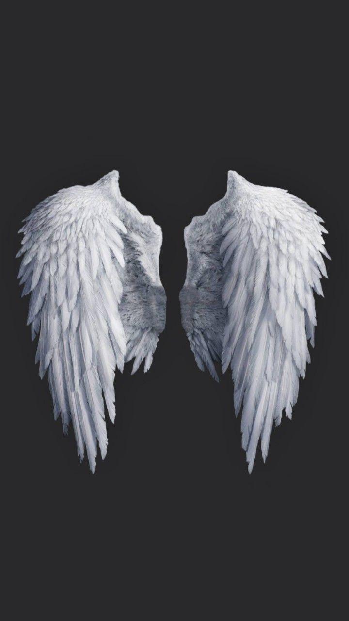 Pin On Aslihan Guner Aesthetic iphone angel wings wallpaper