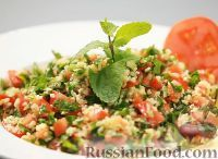 Фото приготовления рецепта: Табуле - ливанский салат с булгуром - шаг №13