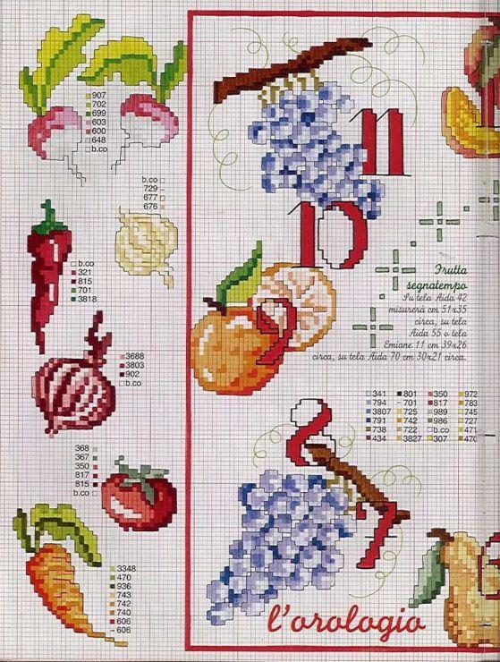 Gallery.ru / Фото #117 - EnciclopEdia Italiana Frutas e verduras - natalytretyak