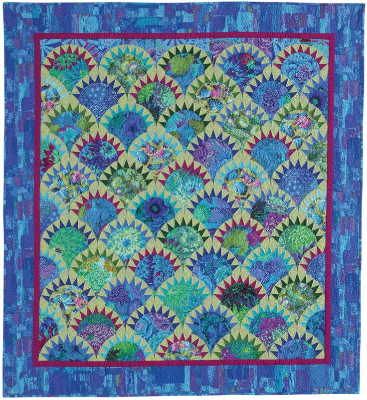 17 Best images about Clamshell Pickle Dish Quilt Designs on Pinterest Turkish tiles, Patterns ...