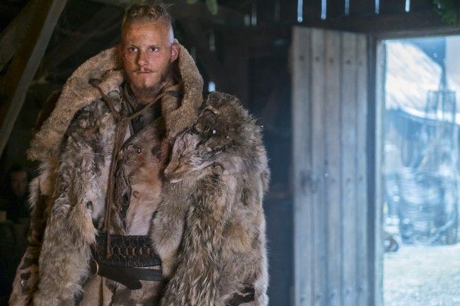 Alexander Ludwig stars as Bjorn Ironside in season 4 of History Channel's Vikings