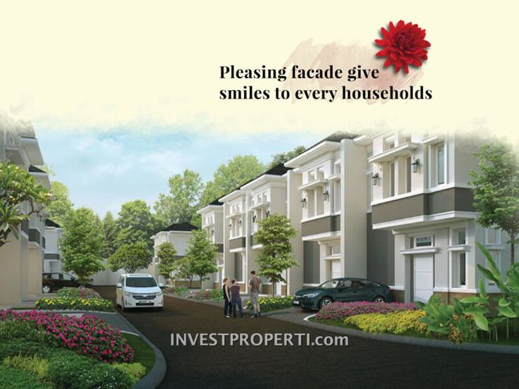 Rumah cluster Canola Parkville Serpong