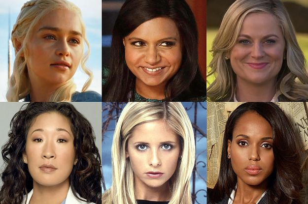 Which Female TV Character Are You? | Addicted to quizzes!