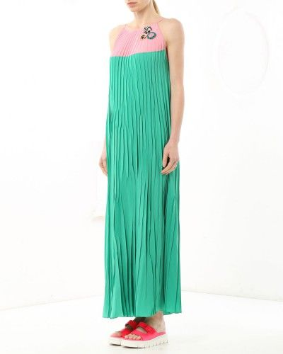 Long pleated dress #longdress #colour #fashion #style #stylish #love #socialenvy #me #cute #photooftheday #beauty #beautiful #instagood #instafashion #pretty #girl #girls #styles #outfit #shopping