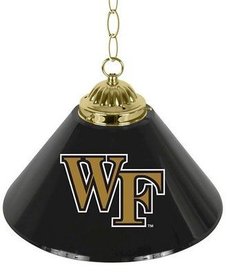 NCAA Wake Forest Demon Deacons Single Shade Bar Lamp - 14