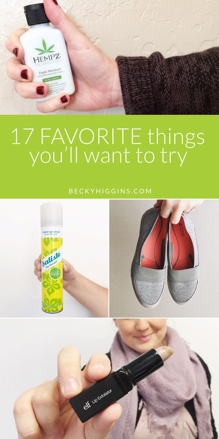 Great product ideas to try! Need to remember some of these from Becky Higgins team.