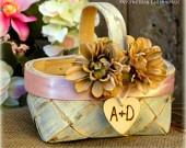 Cute Flower Girl Basket :)