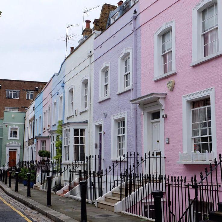 La rue arc-en-ciel  #visitlondon  #nofilter Notre séjour à Londres avec les enfants #surleblog