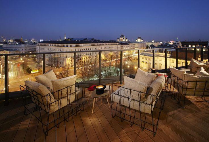 Chillout-Blick vom Dachboden (Bild: 25 Hours Hotel), Geheimtipps Wien präsentiert von zoomsquare.com