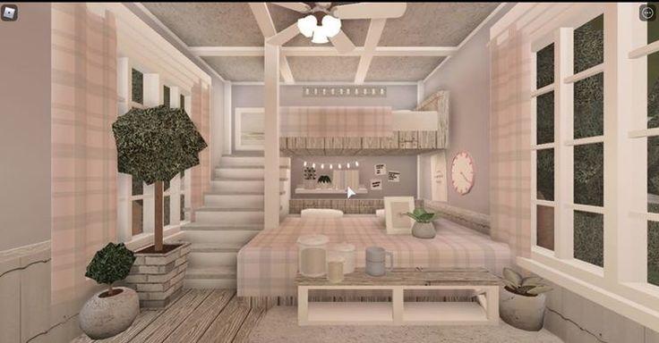Blox burg•Room idea 💡 | Tiny house layout, Small house ...