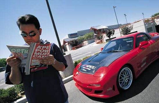 Import Cars featured - Custom 1993 Mazda RX-7 Import Car - Super Street Magazine