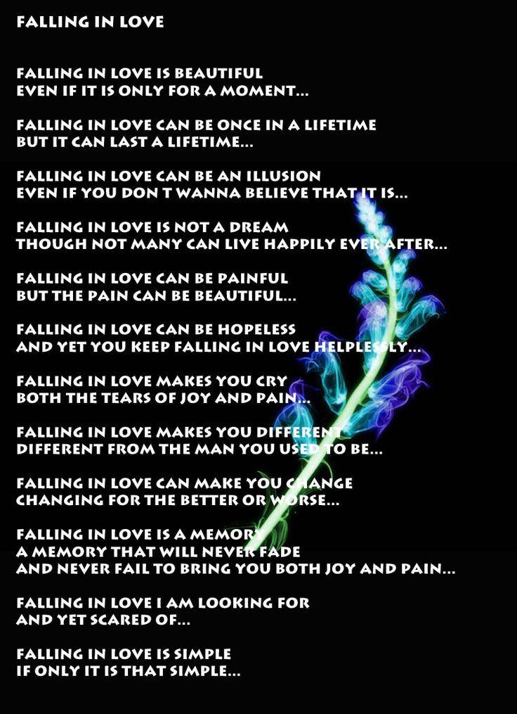 Bildergebnis für THE JOY & PAIN OF FALLING INLOVE