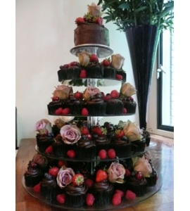 Cake And Punch Reception Decor : 17 Best images about Cake & Punch reception ideas on Pinterest Sheet cake wedding, Receptions ...