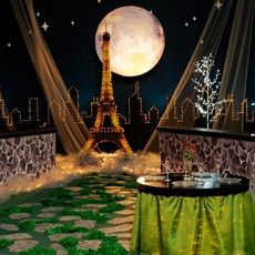 Paris Prom Theme | ... Themes >> Kit-Separates >> Paris Kits >> Moonlight Over Paris Kit