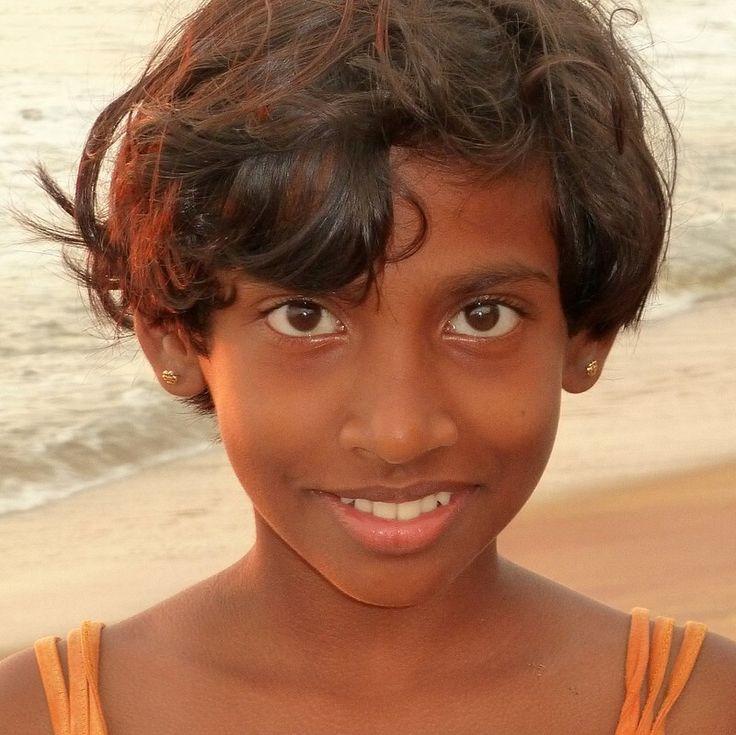 Sri Lanka Colombo Mädchen