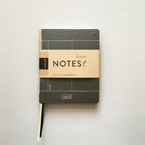 Notebook A6 Luxe Tinne+Mia - Forrest grass