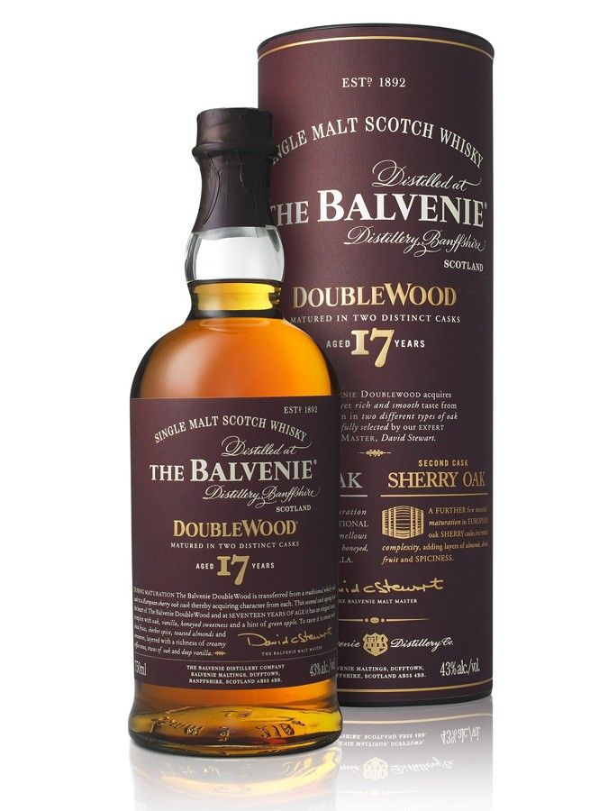 Whisky The Balvenie DoubleWood 17 ans