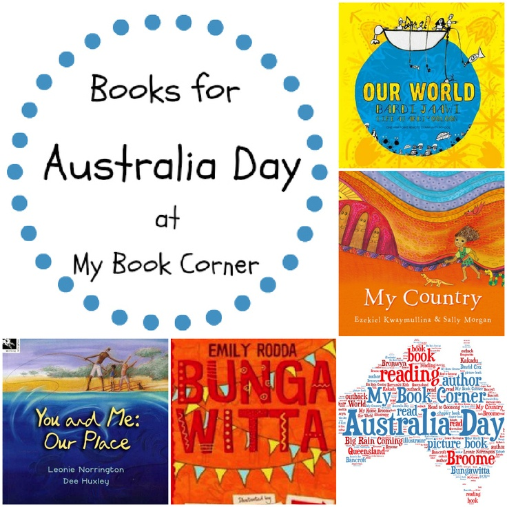 Australia Day - a fab selection of picture & chapter books