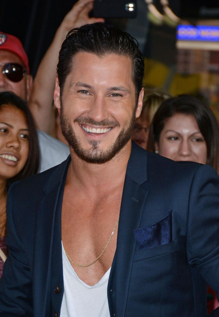 Val Chmerkovskiy, Season 20 champ (with Rumer Willis) on Good Morning America during the DWTS Season 21 Cast Reveal, 9/2/2015