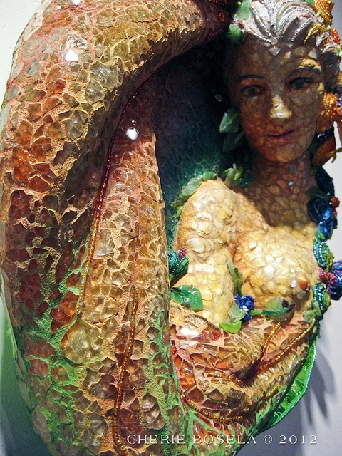 Iris Goddess of Color Artist: Robyn Spencer-Crompton that looks great! you will love this Mosaic sit