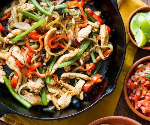 Delicious Chicken Fajitas Recipe for Fajitas Tacos or Salad   @bestrecipebox