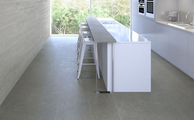 Limewash Coal - Tiles - Surface Gallery #kitchenfloortile #kitchentiles #greytiles
