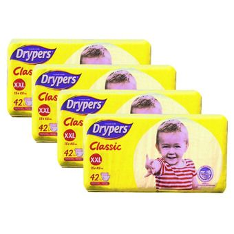 Buy Drypers Classic Open XXL (4x42s) online at Lazada Malaysia. Discount prices and promotional sale on all Diapers. Free Shipping.