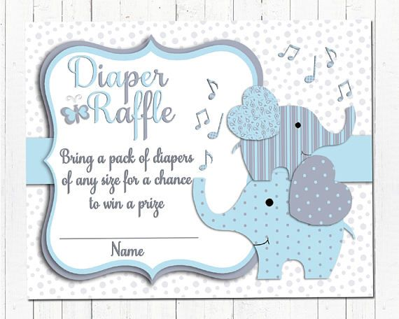 Elephant baby shower printable invitation set baby boy digital invite with inserts thank you bring a book Diaper Raffle card Blue grey ............... ** This listing is for a digital baby shower invitation, a digital Thank you card, a digital Diaper Raffle insert and a digital