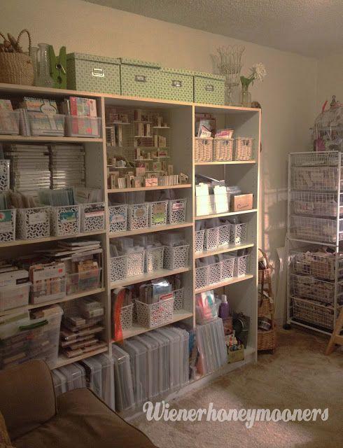 Kimberly Wiener's craft space