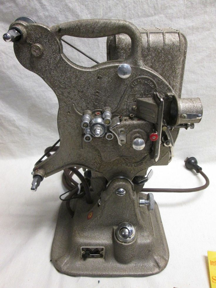 16mm Reel Movie Projectors: Vintage Keystone 16mm Projector Model A 81