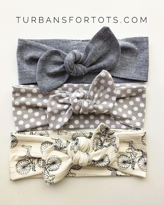 Best Basics  Top Knots Baby Headbands