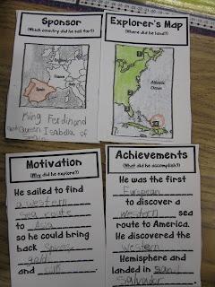 "explorer study ""lap book"""
