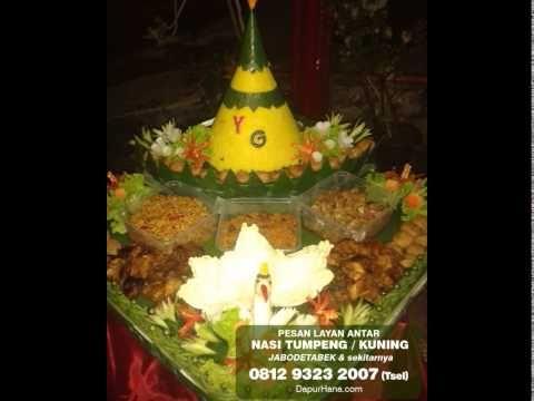 081293232007 (Tsel) | Jual Nasi Tumpeng , Nasi Kuning Enak, Tumpeng Nasi Kuning - YouTube