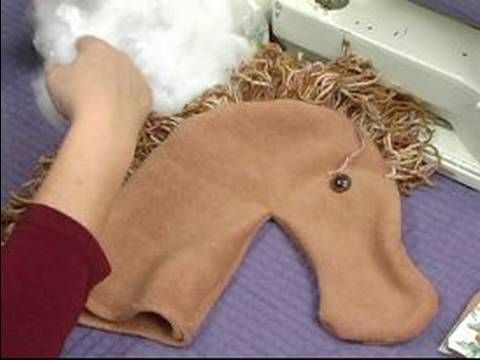 How to Make a Hobby Horse For Kids : How to Stuff Hobby Horse