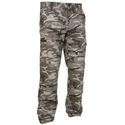 Pantalón largo de caza Steppe 300 camuflaje