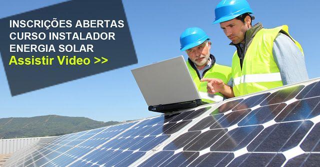 ENERGIA SOLAR - INSTALADOR SOLAR DE ALTA PERFORMANCE é mais que um curso É um programa de aperfeiçoamento contínuo para instaladores, técnicos e empreendedores que querem entrar ou se aperfeiçoar no mercado de ENERGIA SOLAR. #Cursos de #Instalação de #Energia #Solar