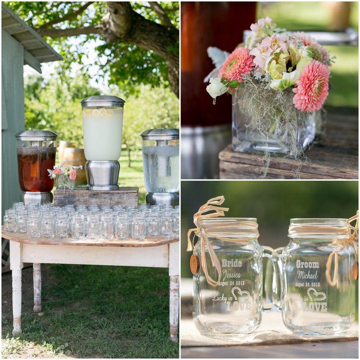 Wedding Ideas Using Mason Jars: 184 Best Images About Mason Jar Wedding Ideas On Pinterest