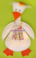 Arts Activities. Mother Goose Day, create a paper plate Mother Goose to inspire the reading of fairy tales. (Mother Goose Day- May 8th)