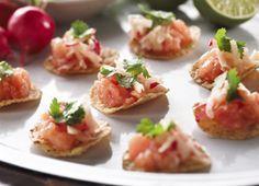 Tartare de saumon et pommes à l'érable | Recettes | Mon assiette | Plaisirs Santé